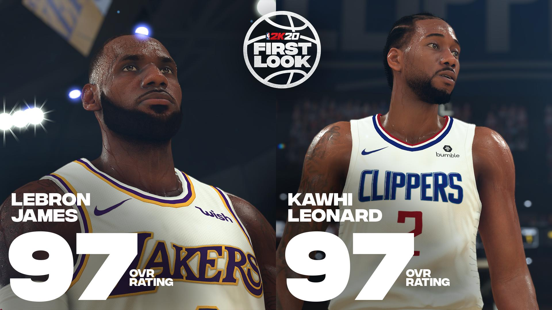 NBA 2K20: Examining the First Look Player Ratings